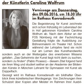 Mitteilungsblatt Konradsreuth