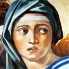 """""""Die delphische Sybille"""" (Detail) nach Michelangelo"""