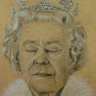 """Queen Elizabeth II – Asleep"""